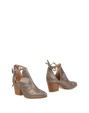 Полусапоги и высокие ботинки FIORIFRANCESI. Цвет: бронзовый