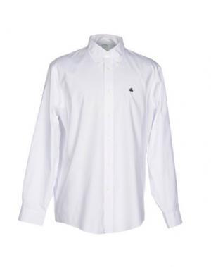 Pубашка BROOKS BROTHERS. Цвет: белый