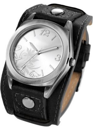 Часы Имке (черный) bonprix. Цвет: черный
