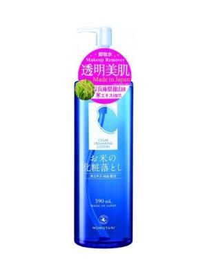 Очищающий лосьон для снятия макияжа 390 мл Momotani. Цвет: белый