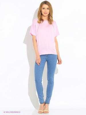 Блузка Green Tara. Цвет: розовый