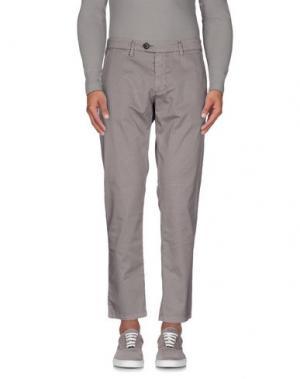 Повседневные брюки DW⁵. Цвет: голубиный серый
