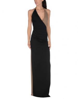 Пляжное платье FISICO-CRISTINA FERRARI. Цвет: черный