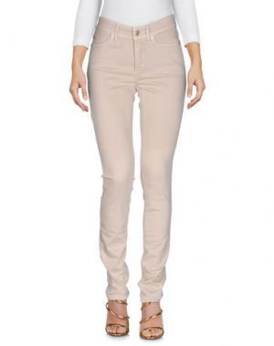 Джинсовые брюки CAMBIO. Цвет: бежевый