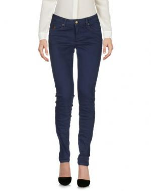Повседневные брюки DUCK FARM. Цвет: темно-синий