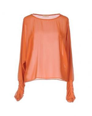 Блузка H2O ITALIA. Цвет: оранжевый