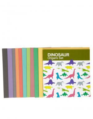 Набор для оригами Динозавр Подарки. Цвет: мульти