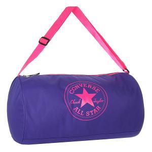 Сумка спортивная женская  Standard Duffel Poly Blue/Pink Converse. Цвет: синий,розовый