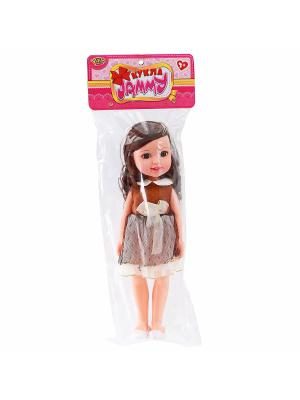 Кукла 31 см VELD-CO. Цвет: коричневый, бежевый, бронзовый
