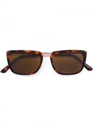 Солнцезащитные очки Klug Moscot. Цвет: коричневый