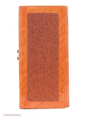 Кошелек VIVIAN ROYAL. Цвет: оранжевый