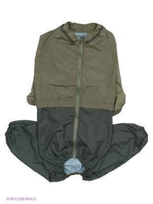 Дождевик холодный (Ротвейлер), мальчик ТУЗИК. Цвет: хаки, серый