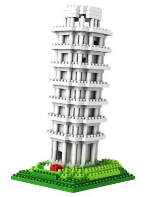 Nano Конструктор Пизанская Башня Склад Уникальных Товаров. Цвет: белый, серый