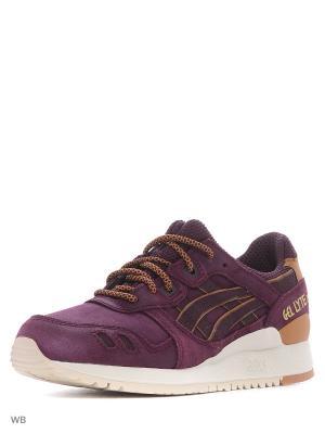Спортивная обувь GEL-LYTE III ASICSTIGER. Цвет: фиолетовый, коричневый