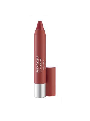 Бальзам для губ матовый Colorburst Matte Balm, Elusive 205 Revlon. Цвет: розовый