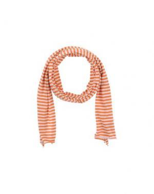 Шарф FARHI BY NICOLE. Цвет: оранжевый