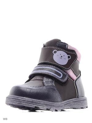 Ботинки Flamingo. Цвет: темно-фиолетовый