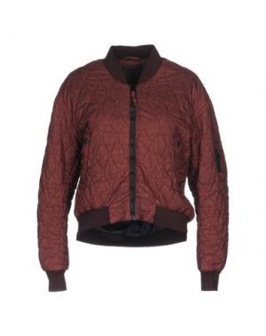 Куртка SPIEWAK. Цвет: красно-коричневый