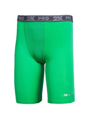 Тайтсы Team 2K. Цвет: зеленый
