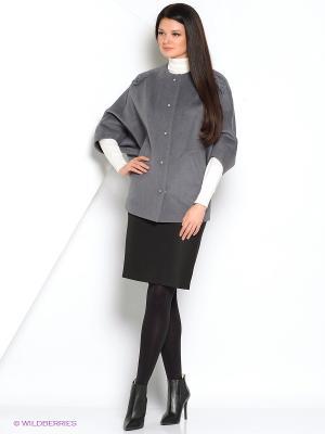 Пальто Anora. Цвет: темно-серый