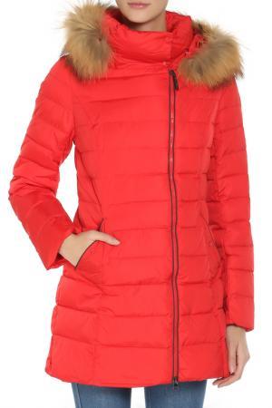 Пальто SNOWIMAGE. Цвет: 1063 красный