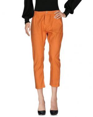 Повседневные брюки LIIS - JAPAN. Цвет: оранжевый