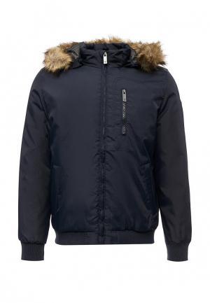 Куртка утепленная E-Bound. Цвет: синий