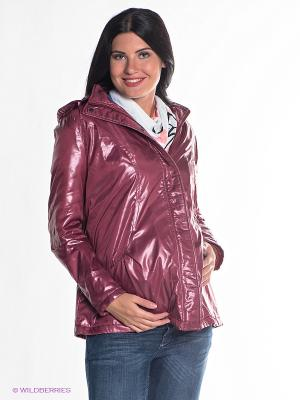Куртка Mamita. Цвет: бордовый