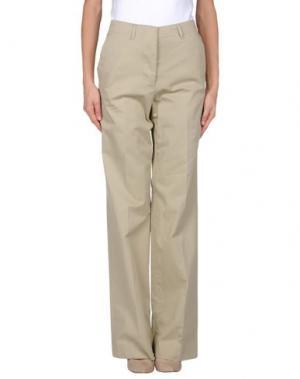Повседневные брюки MAURO GRIFONI. Цвет: голубиный серый