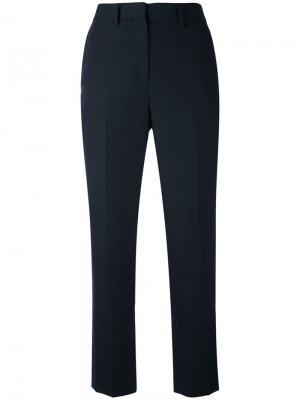 Укороченные брюки с завышенной талией Margaret Howell. Цвет: синий