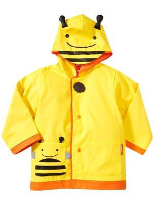 Детский плащ Пчела SkipHop. Цвет: оранжевый, желтый
