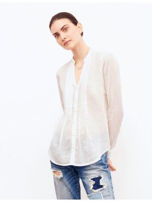 Блузка Jennyfer. Цвет: кремовый