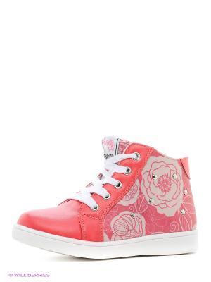 Ботинки Indigo kids. Цвет: коралловый