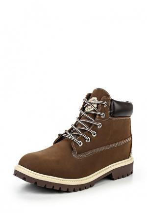 Ботинки Jomix. Цвет: коричневый