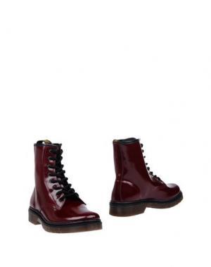 Полусапоги и высокие ботинки PEOPLE for HAPPINESS. Цвет: красно-коричневый