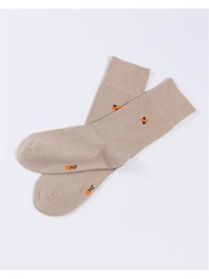 Носки мужские Mark Formelle. Цвет: светло-коричневый
