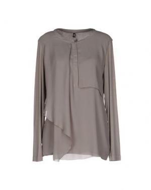Pубашка EUROPEAN CULTURE. Цвет: светло-серый