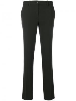 Классические брюки Etro. Цвет: зелёный