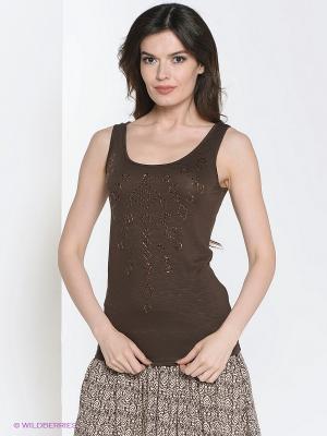 Топ Vilatte. Цвет: коричневый