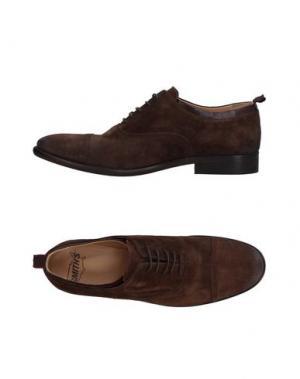 Обувь на шнурках SMITH'S AMERICAN. Цвет: темно-коричневый