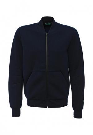 Куртка United Colors of Benetton. Цвет: синий