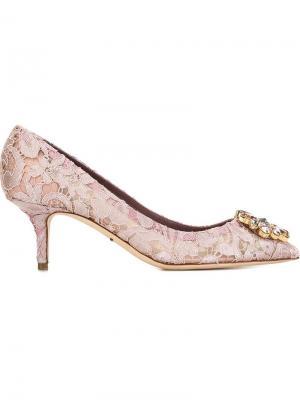 Туфли Bellucci Dolce & Gabbana. Цвет: розовый и фиолетовый
