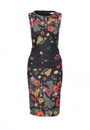 Платье Y by Yumi. Цвет: разноцветный