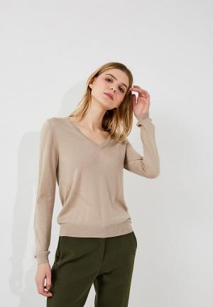 Пуловер Patrizia Pepe. Цвет: бежевый