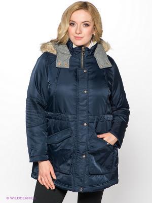 Куртка New Look. Цвет: темно-синий