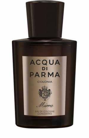 Одеколон Colonia Mirra Acqua di Parma. Цвет: бесцветный