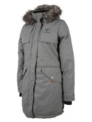 Куртка KIMONE COAT HUMMEL. Цвет: светло-серый