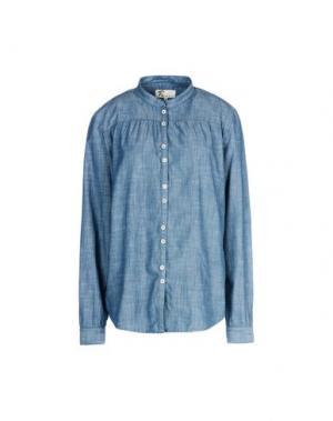 Pубашка LOCAL APPAREL. Цвет: грифельно-синий