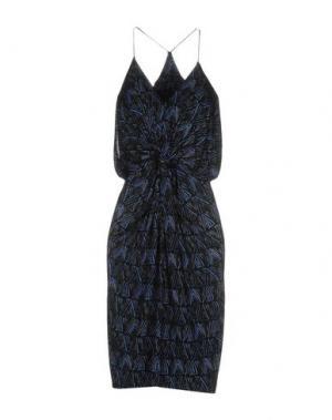 Короткое платье T-BAGS. Цвет: черный