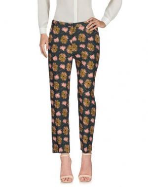 Повседневные брюки LAURA URBINATI. Цвет: темно-зеленый